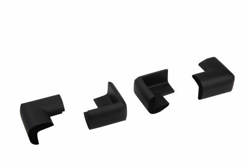 Set 4 bucati groase protectii colturi mobilier, 3.5x1.2x5.5 cm